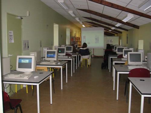 La salle informatique